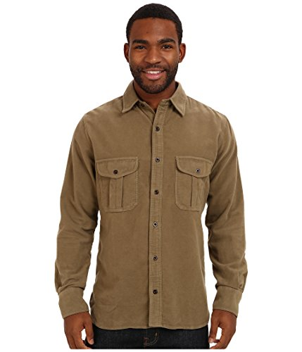 Shirt Moleskin Big - Filson Men's Moleskin Seattle Shirt, Lovat MD