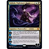 Nightmare Muse 1x Ashiok Foil Borderless NM Theros Beyond Death-2 Available