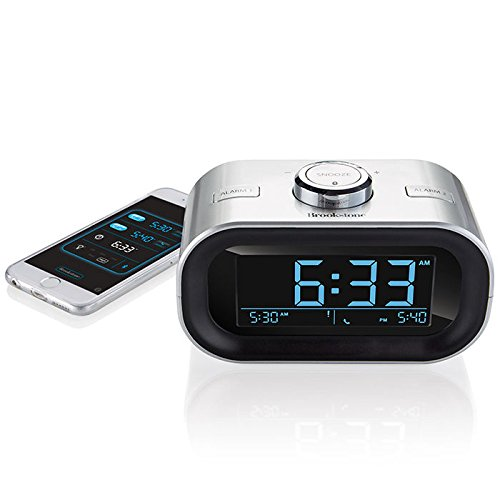 timesmart app controlled bluetooth alarm clock radio 11street malaysia alarm clock. Black Bedroom Furniture Sets. Home Design Ideas