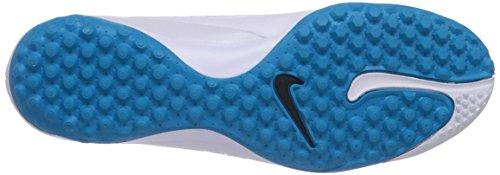 Nike 599846-148 - Zapatillas de fútbol para hombre WHITE/BL LAGOON
