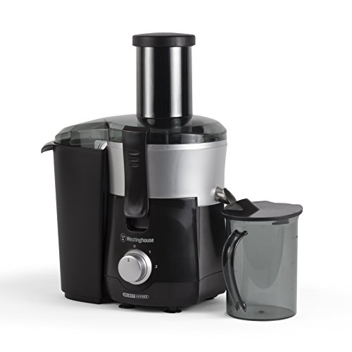 Westinghouse COMINHKPR100901 WJE2BSLA Select Series 2 Speed Fruit & Vegetable Juice Extractor with Custom Pitcher, Black by Westinghouse (Image #1)'