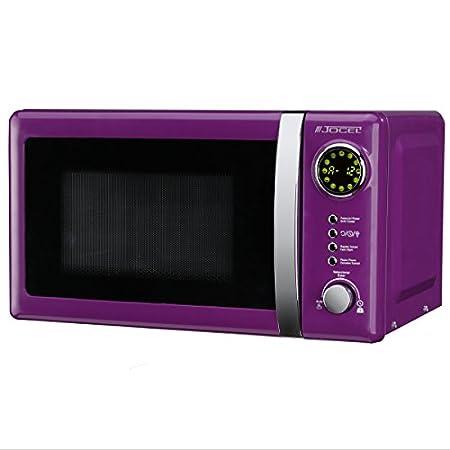 Jocel JMO001313 Microondas púrpura, 700 W, 20 litros, Aluminio