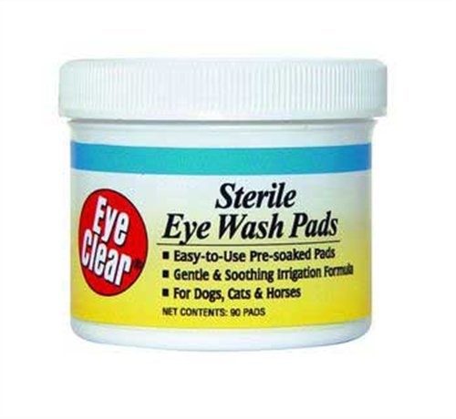 Miracle Care by MiracleCorp/Gimborn Eye Clear Sterile Eye Wash Pads, 90-Count, My Pet Supplies
