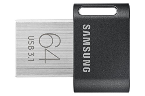 Drive Mini Usb Flash - Samsung MUF-64AB/AM FIT Plus 64GB - 200MB/s USB 3.1 Flash Drive