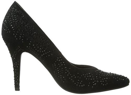 Marco Tozzi 22405 - Zapatos de vestir de lona para mujer negro - Schwarz (Black / 1)