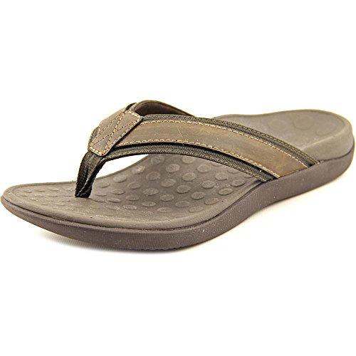(Vionic Men's, Tide flip Flop Sandals Brown 7 M)