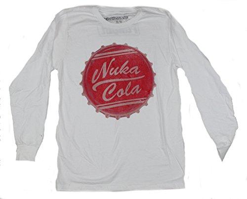 (Fallout Nuka Cola Mens Long Sleeve Shirt Licensed (Medium))