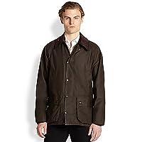 Barbour Mens Classic Beaufort Wax Jacket, 42, Green
