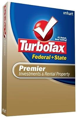 TurboTax Premier Federal + State + eFile 2008 [OLD VERSION]