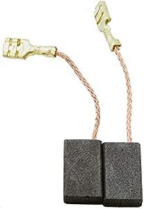 3.1x5.5x7.9 8x14x20mm Escobillas de Carb/ón para MILWAUKEE AG21-230E amoladora