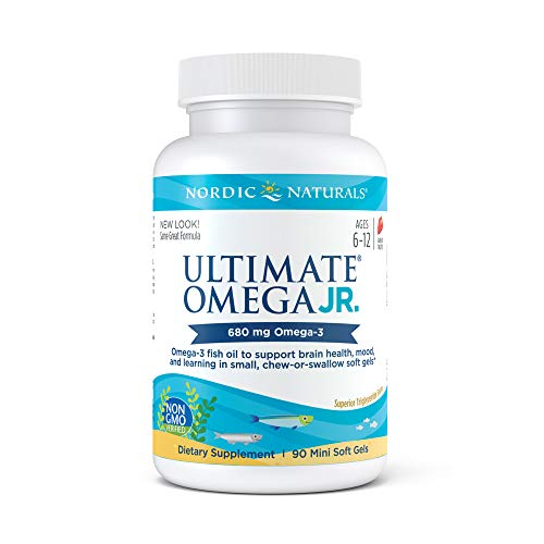 (Nordic Naturals - Ultimate Omega Junior, Support for a Healthy Heart, 90 Soft Gels (FFP))