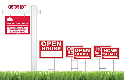 Deluxe Home Estate Signs Vinyl product image