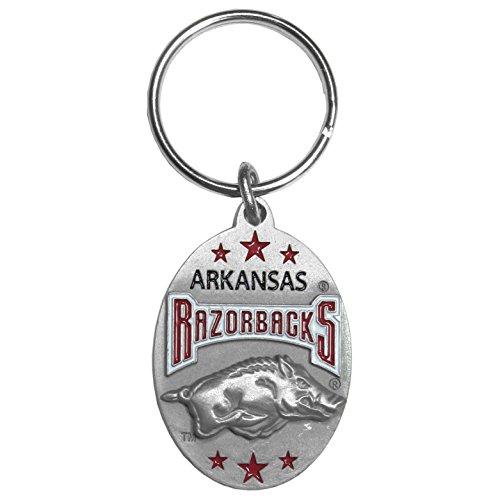 Siskiyou NCAA Arkansas Razorbacks Carved Metal Key Chain