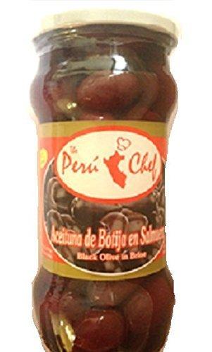 Peru Chef Aceitunas de Botija (Peruvian Black Olives) 20 oz by Peru Chef
