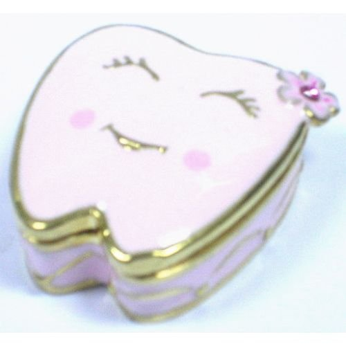 Welforth Pink Tooth Trinket Box
