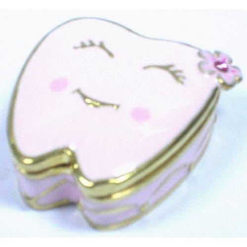 Welforth Pink Tooth Trinket Box