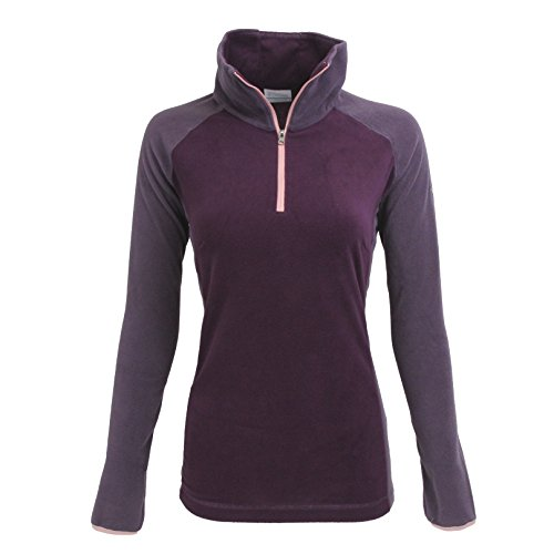 Columbia Women's Glacial Fleece III 1/2 Zip, Purple Dahlia/Dusty Purple, - Number Columbia Style