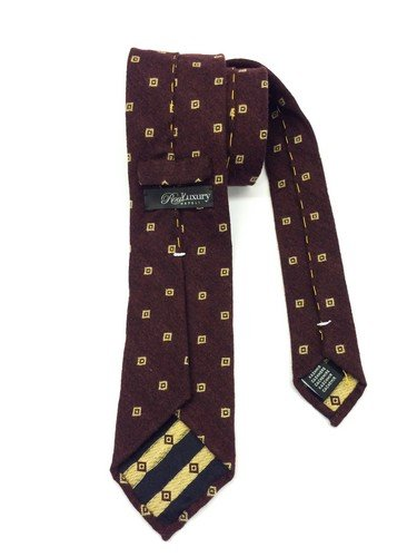 Real Luxury Napoli - Corbata de cachemir de 3 pliegues forrada ...