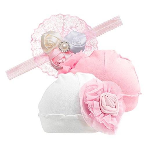 Eriso Baby Cotton Flower Hairband