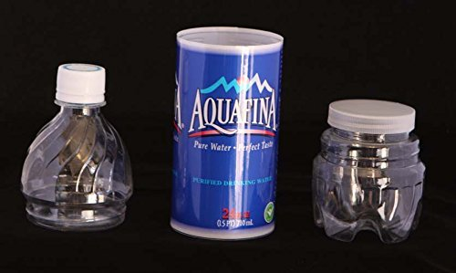 Aquafina Bottle Water Safe Can Diversion Stash+Free Pack of 1 1/4 Rasta Wrap, Home Improvement Tool