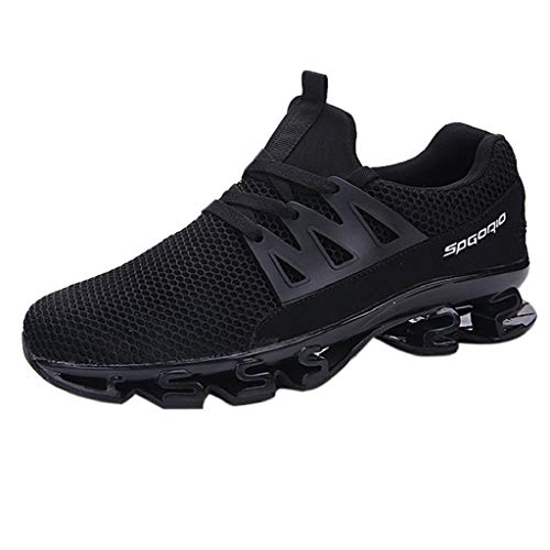 Men's Warm Waterproof Mesh Blade Sneakers Breathable Boots Breathable Casual Wear Resistant Shoes Thickening Antiskid Comfy Running Jogging Fitness Athletic Walking ()