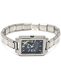 TINKERBELL RARE LIMITED EDITION WATCH WITH STAINLESS SILVER ITALIAN CHARM BAND