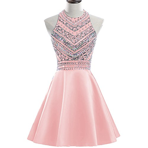 Pink Homecoming Dresses - 6