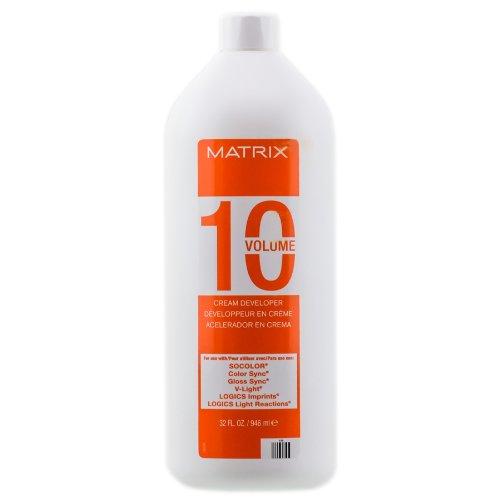 Matrix Socolor Solite 10 Vol Cream Developer Large (32 oz)