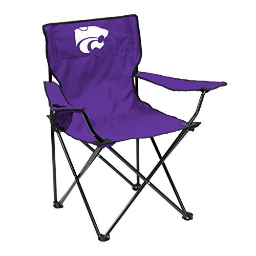 Logo Brands NCAA Kansas State Wildcats Quad Chair, Adult, Purple