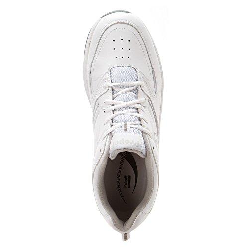 Propet Mens Blanc Chaussure De Marche Warner