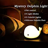 Night Light for Kids and Baby, LED Dolphin