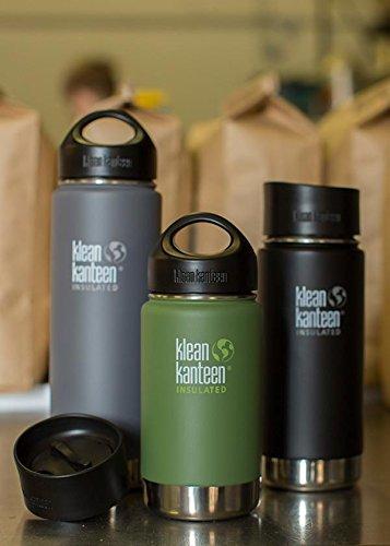 Klean Kanteen Wide 592ml Insulated Bottle Cafe Cap 2.0 Winter Plum