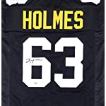 799ceabd3d4 Pittsburgh Steelers Ernie Holmes Signed Auto Black Jersey - PSA/DNA  Authentic.