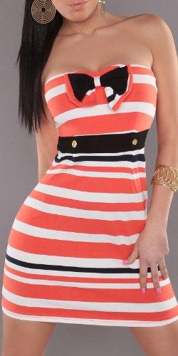 In-Stylefashion - Vestido - Top corto - para mujer naranja