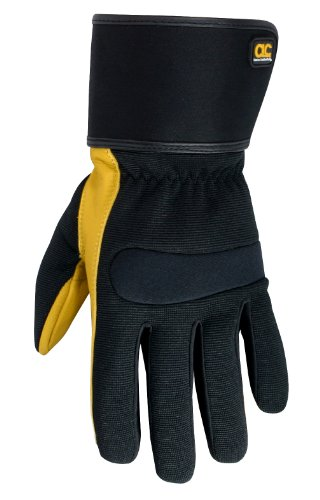 - CLC Custom Leathercraft 270M Work Gloves with Top Grain Leather and Safety Cuff , Medium