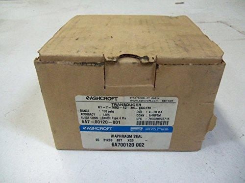 ASHCROFT TRANSDUCER K1-7-M02-42-B4-XCGMNEW IN BOX