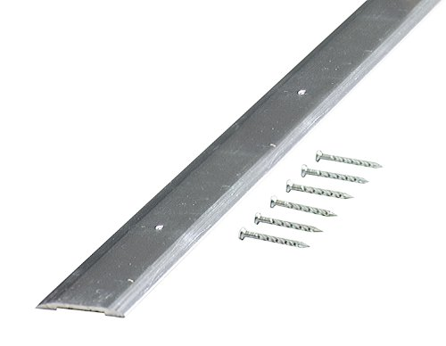M-D Building Products 66019 M-D Smooth Seam Binder, 36 in L X 1-1/4 in W, Aluminum, quot quot, ()