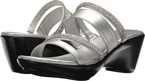 Athena Alexander Women's Kozima Sandal Silver 7 M US