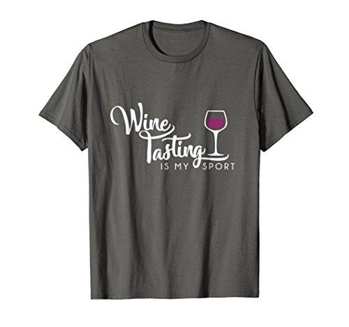 Wine Tasting Sport Shirt Funny Cute Drinking Wine Lover Gift