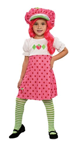 Strawberry Shortcake Halloween Costume (Strawberry Shortcake Costume, Toddler)