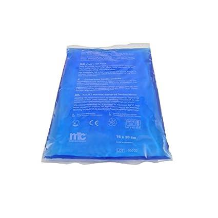 Bolsa de gel, para uso frío o caliente, 16 x 26 cm: Amazon ...