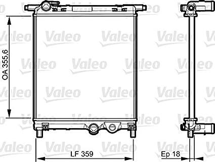 Excellent Amazon Com Valeo Engine Cooling Radiator Fits Seat Mii Skoda Citigo Wiring Digital Resources Zidurslowmaporg