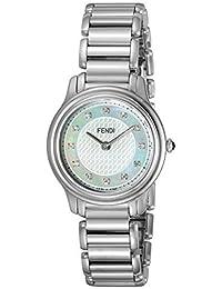 [Fendi] FENDI watch Classico round white pearl dial diamond F251024500D1 Ladies [parallel import goods]