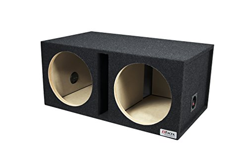 Bbox E12DSV Dual 12″ Shared Vented Carpeted Subwoofer Enclosure