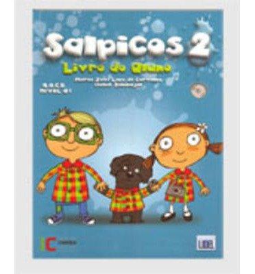 Download Salpicos - Portuguese Course for Children: Livro Do Aluno 2 (A1) + CD (Novo Acordo) (Mixed media product)(Portuguese) - Common ebook