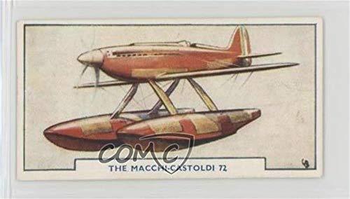 The Macchi-Castoldi 72 (Trading Card) 1925 Godfrey Phillips Aircraft - Tobacco [Base] - Matte Finish Back #49