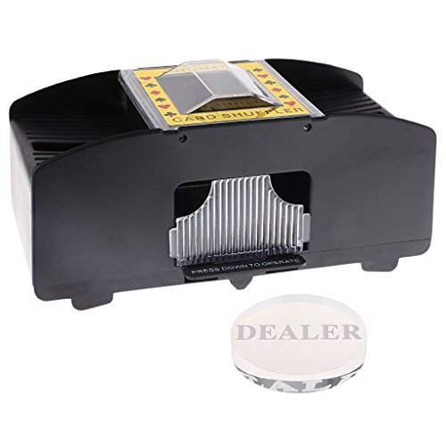 Homyl Advanced Card Shuffler Machine Battery Operated Casino Poker Games+Dealer #1 by Homyl
