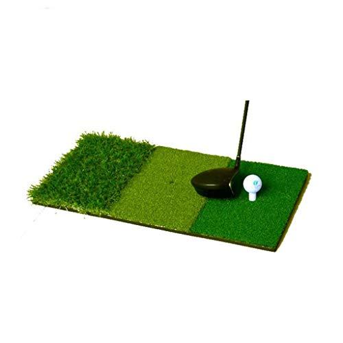 NDY Portable Swing mat, Mini, Training mat, Fairway mat, Exercise mat, Multi-Size, Fairway, Club, 30 60cm, Backyard Golf mat