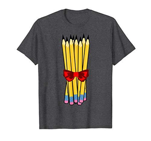 Sharpened pencils t-shirt; teacher tshirt; romcom movie tee
