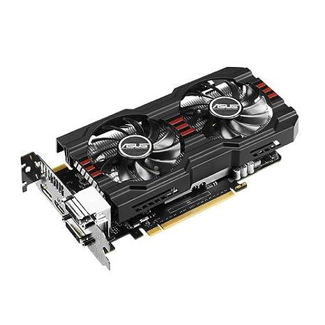 ASUS ASUS GeForce GTX 650 Ti Boost DirectCU II OC 2GB - Tarjeta gráfica (CUDA, Full HD, PhysX, 2GB, GDDR5-SDRAM, 192 bit), Negro